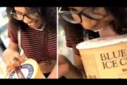 【米・スーパー】売り物アイスを舐めて戻した女が大炎上