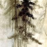 『松林図屏風(1)』の画像