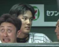阪神今成とかいう顔芸野球選手wwww