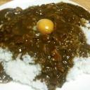 『【今日の夕飯】いなばチキンとインドカレー黒カレー(TKG)その2』の画像