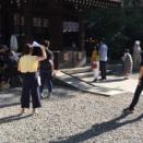 川越 氷川神社・・・9月15日 撮影隊