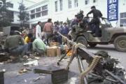 【韓国】徴用工像をトラックで撤去 市民団体敗北