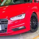『【スタッフ日誌】Audi A3セダンカスタマイズさせて頂きました!』の画像