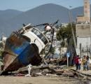 【画像】チリ地震、死者11人 津波で沿岸に大きな被害