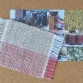 ぜんまい綿毛糸のコースター(中サイズ)