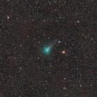 『分子雲を移動中の連夜のアサシン彗星(C/2017 O1)』の画像