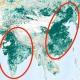 【朗報】NASA「インドと中国が植林しているおかげで地球の緑が増加しました」