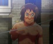【アニメ系巨人?】ミーナを襲った『まえあつ似の巨人』が可愛いと話題に