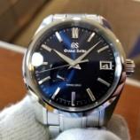 『【再入荷】圧倒的ミッドナイトブルーが美しいグランドセイコー【SBGA375】』の画像