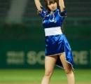 【画像】春麗コスプレをした韓国人アイドルの始球式がセクシーすぎて