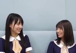 【乃木坂46】北野日奈子×賀喜遥香、2人ともニコニコでほっこりする動画www