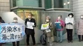 【画像】朝日新聞「処理水の海洋放出、10~30代が抗議!」→参加者が老人だらけでネット民大爆笑wwwww