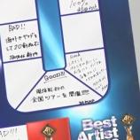 """『【乃木坂46】齋藤飛鳥がベストアーティストで密かに書いてた""""今年のグッドニュース""""『スペインでおじさま店員にくどかれました・・・』』の画像"""