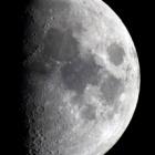 『月齢8.1の綺麗なお月様』の画像
