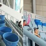 【動画】韓国初のドーム球場、オープンから2年で7回の雨漏り!手抜き疑惑が浮上 [海外]