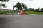 青から赤へ。寺地区に田んぼ横の自販機が復活してる!〜6台から1台になってる〜