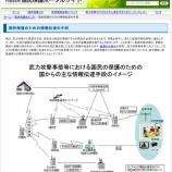 『戸田市では11月21日(水)に全国瞬時警報システム(J-ALERT)の試験放送が行われます』の画像