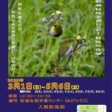 『彩湖自然学習センター(みどりパル)自然写真展が3月1日より開催。なお、あまり知られていないことですが、みどりパルでは「彩湖のダムカード」がもらえます!』の画像