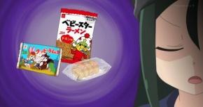 【八十亀ちゃんかんさつにっき】第7話 感想 しるこサンド おにぎりせんべい カニチップ