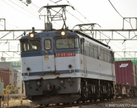 『府中本町で電気機関車三昧?? :by 松本正敏』の画像
