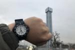Dioのせいなのか!?青山の時計台。完全に沈黙したみたい・・・。