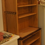『キッチン用の棚納品』の画像