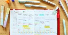 手帳タイム Before-After & 数量限定Newデコラッシュ