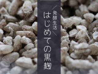 発酵を楽しむ暮らし|「黒麹」で自家製「醤油麹」仕込み