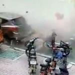 【動画】中国、今度はラーメン屋が大爆発!ドカンと共に通りに破片が飛び散る! [海外]