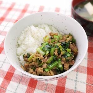 コクがすごい!豚肉と小松菜のオイスターご飯