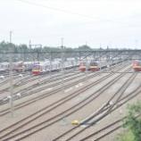 『事故車東急8612号車移動ほか、デポック電車区橋の上(1月分)』の画像