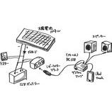 『太陽電池パネルを使った、ローコストで超簡単なオーディオシステムの紹介。』の画像