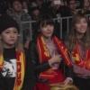 宮脇、島田、松井 新日本プロレス1.4東京ドーム観戦中