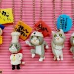 ヨシ!大人気の「仕事猫」のフィギュアがキーチェーンになってガチャに登場!