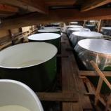 『来年向けに、酒蔵のタンク周りを整備してもらいました』の画像
