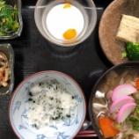 『今日の桜町昼食(しっぽくそば)』の画像