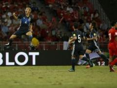 【動画】日本代表×シンガポール代表、試合終了!吉田麻也のゴールが決まり3-0!日本快勝!