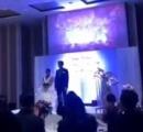 不倫されていた新郎が結婚式で復讐 新婦の不倫映像を結婚式で流し修羅場に
