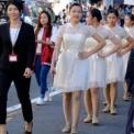 2018年 第50回相模女子大学相生祭 その12(市中パレード・中等部)