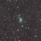 『23日のパンスターズ彗星(C/2017 T2)』の画像