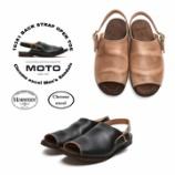 『入荷 | MOTO (モト) 16381 バックストラップサンダル』の画像