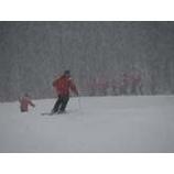 『午後から雪となりました』の画像