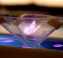(動画) スマホでホログラム!? ちょっとした工作で立体映像を映し出す方法