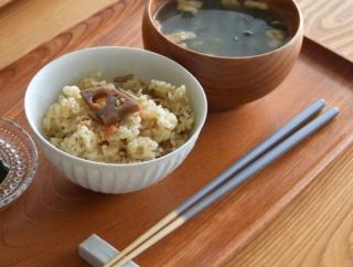 ポチレポ◇マクロビオティック炊き込みご飯の素とカラー竹箸