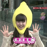 AKB・NMB48 市川美織(フレッシュレモン)が篠田麻里子の代役で今度はPONに出演!!!!!! アイドルファンマスター