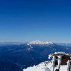 冬の木曽駒ヶ岳登山