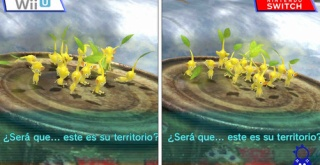『ピクミン3 デラックス』、Switch版とWii U版の比較映像が公開。Switch版の解像度は720pと判明。