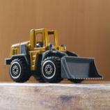 『ダイソー 働く車(ミニ) KONG XK5 ホイールローダー』の画像