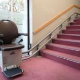 『B1Fへの階段昇降機設置しました!』の画像