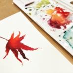 水彩的生活KUROKAWAの透明水彩画